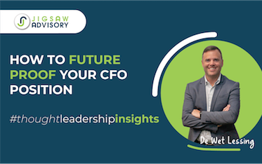 The CFO of the Future – how to  futureproof your CFO position