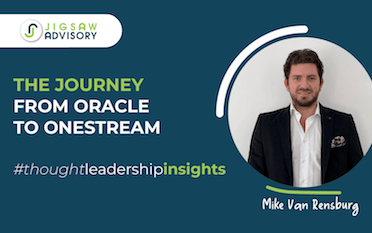 A journey from Oracle to OneStream